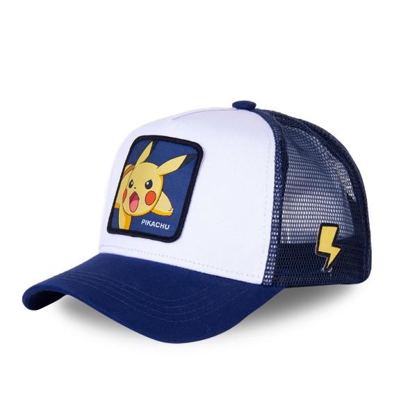 Sapka CAPSLAB Pokemon white/blue