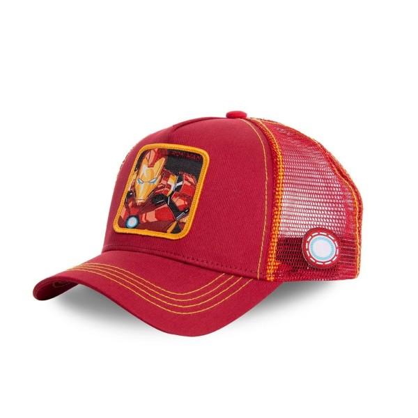 Sapka CAPSLAB Marvel Ironman red