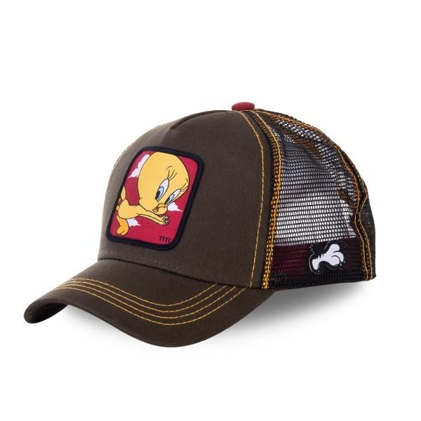 Sapka CAPSLAB Looney Tunes Tweety brown/red