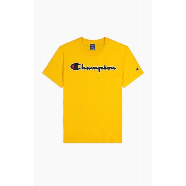 Trikó CHAMPION Rochester Satin Script yellow