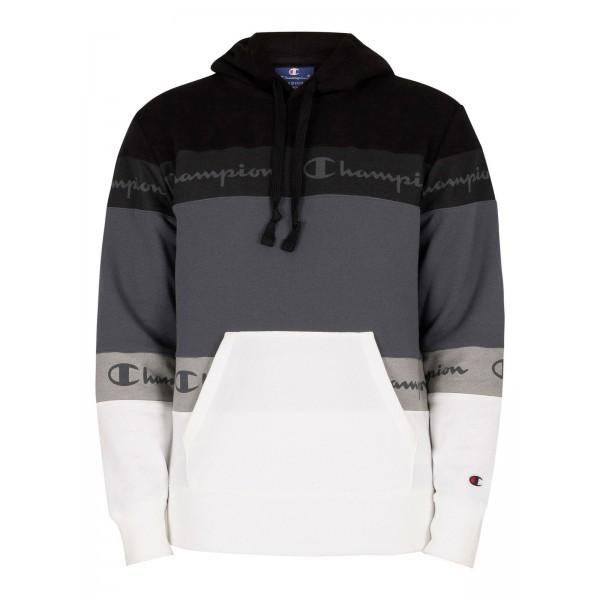 Felső CHAMPION Comfort Hoodie black/grey