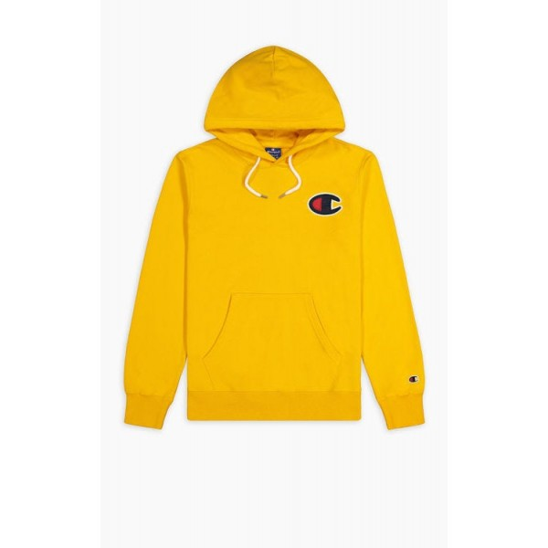 Felső CHAMPION Rochester C-Logo Hoodie yellow