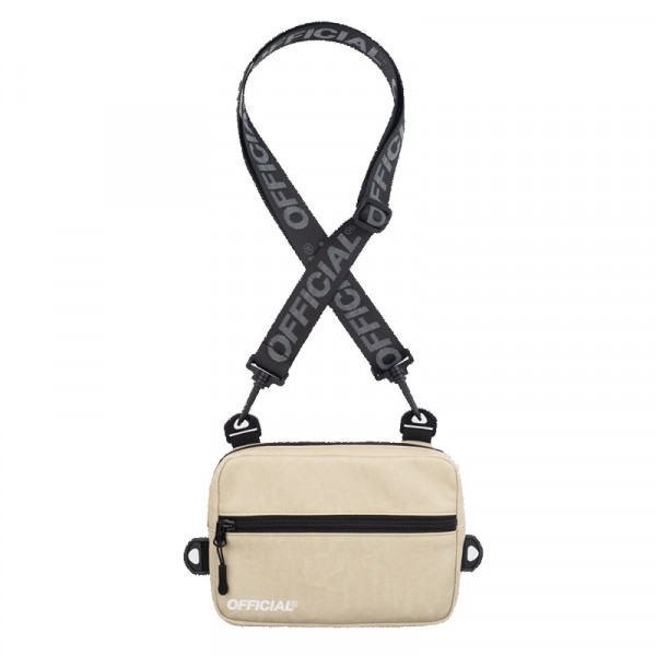 Táska OFFICIAL Neck Utility Back beige
