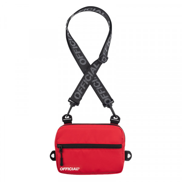 Táska OFFICIAL Neck Utility Back red