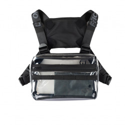 Taska OFFICIAL Translucent Chest bag clear
