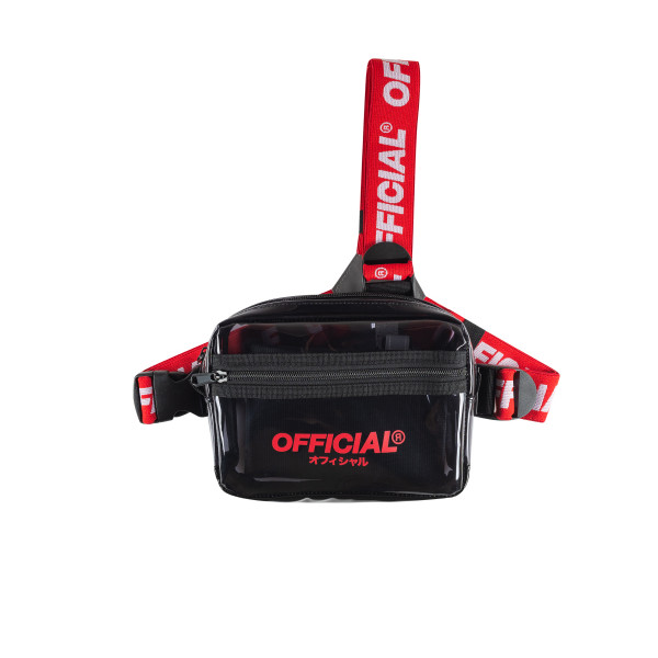 Taska OFFICIAL Translucent Tri-Strap black/red