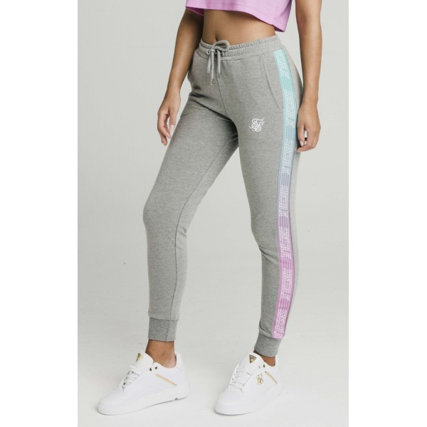 Melegítő SIK SILK Fade Runner Track pants grey