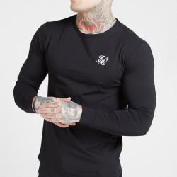 Trikó SIK SILK Long Sleeve Gym Tee black