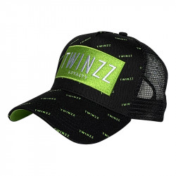 Sapka TWINZZ Pinelli Ss Trucker black/lime