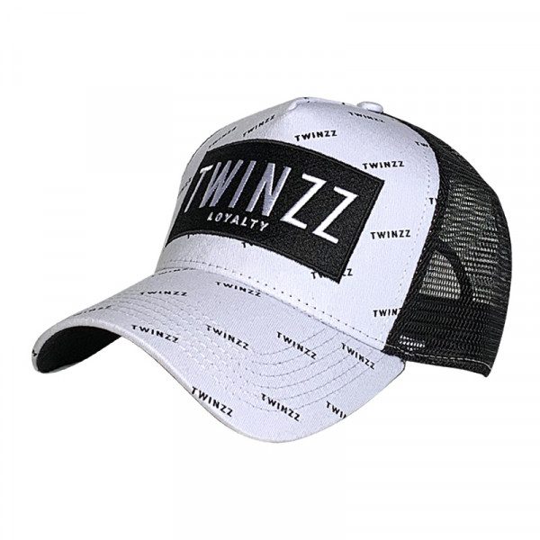 Sapka TWINZZ Pinelli Ss Trucker white/black