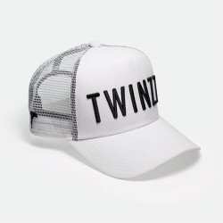 Sapka TWINZZ 3D Mesh Trucker white/black