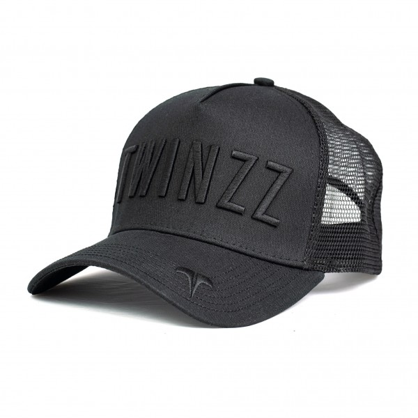 Sapka TWINZZ Ghost trucker black