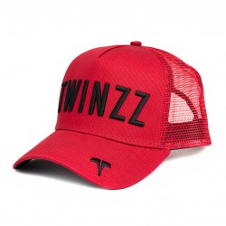 Sapka TWINZZ Ghost trucker red