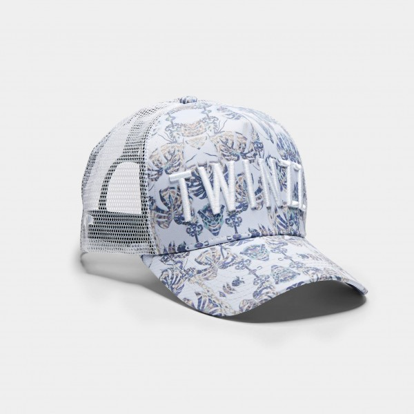 Sapka TWINZZ Palm Off trucker white