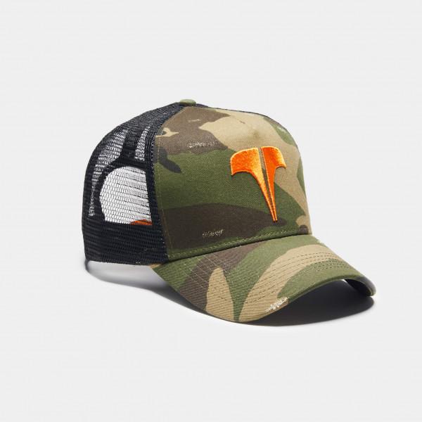 Sapka TWINZZ Rockland camo/orange