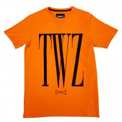 Trikó TWINZZ Rossi Tee orange/black
