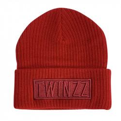 Sapka TWINZZ Toronto Box Beanie red
