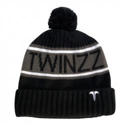 Sapka TWINZZ Vancouver Jacquard black/charcoal/white