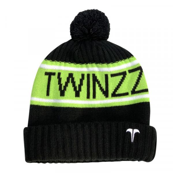 Sapka TWINZZ Vancouver Jacquard black/lime/white